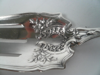 Durgin Sterling Salad Set in the Du Barry Pattern