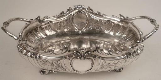 Impressive Signed Christofle Silver Centerpiece