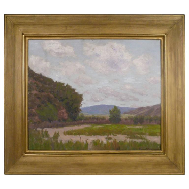 California Landscape by American Impressionist Painter Edward B. Butler