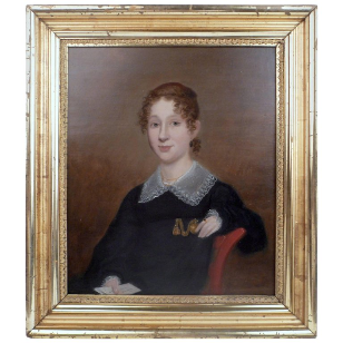 American Federal Portrait of a Lady